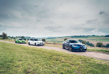 ALFA ROMEO GIULIA QUADRIFOGLIO // BMW M4 COUPE COMPETITION // MERCEDES-AMG C 63 S BREAK : Donder- dagen