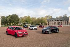 La Volkswagen Polo et la Ford Fiesta 2018 face à 5 rivales