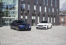 Alfa Romeo Giulia Quadrifoglio vs Mercedes-AMG C 63 S Coupé