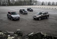 Dacia Duster tegen 3 rivalen
