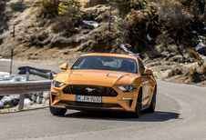 Ford Mustang : débourrage fin