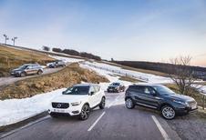 Volvo XC40 vs 4 SUV'S