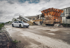 Porsche Panamera Sport Turismo Turbo S E-Hybrid : De grote spreidstand