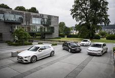 Mercedes Classe A vs 3 moyennes