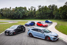5 Hot Hatches : La Commedia dell'Arte