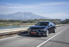 Lexus ES 300h: Comfortmobiel