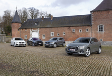 Audi Q3 tegen 3 rivalen