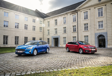 Ford Focus Clipper vs Peugeot 308 SW