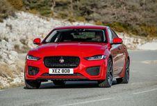 Jaguar XE: Muurbloempje af