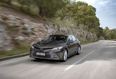 Toyota Camry : berline cherche chauffeur
