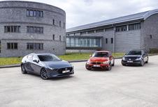 3 Compactes : Mazda 3, BMW 118i et VW Golf