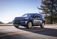 Ford Explorer : Viser haut
