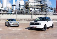 Twee elektrische stadsauto's : Retro en hightech