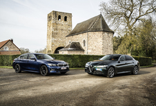 Alfa Romeo Giulia vs BMW 320i : 2 berlines «propulsion»