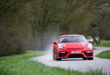Porsche 718 Cayman GT4 : la Cayman pour la piste