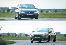 Ford Focus RS – Volkswagen Golf R: Topontmoeting