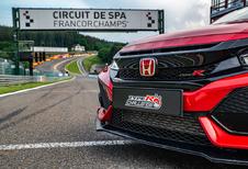 Hoe snel dendert een standaard-Honda Civic Type R over Spa-Francorchamps?