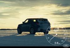 Range Rover Sport SVR doet 0-100 km/u op asfalt, gravel en sneeuw,