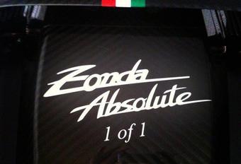 HET BOS EN DE BOMEN: Pagani Zonda Absolute #1