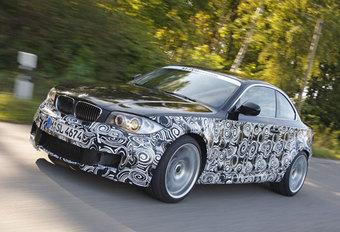 BMW 1 REEKS M COUPÉ - Prototypetest #1