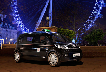 LONDON CALLING: Volkswagen Up Taxi Concept #1