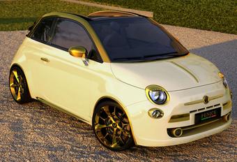 AL GOUD DAT BLINKT: Fiat 500C by Fenice Milano #1