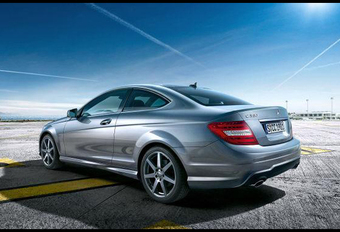 GELEKT: Mercedes C-Klasse Coupé #1