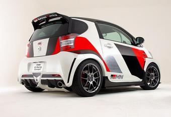POCKET ROCKET: Toyota iQ Racing Concept #1