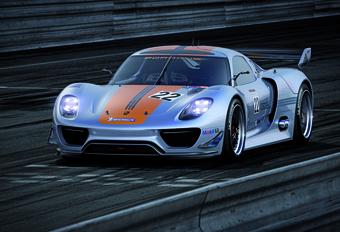 HYBRIDE RACEVERSIE: Porsche 918 RSR #1