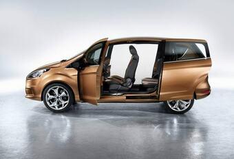 VELE GROTEN MAKEN EEN KLEINTJE: Ford met B-Max naar Genève #1