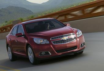 EERSTE FOTO: Chevrolet Malibu #1