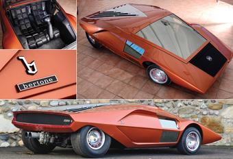 SOLDEN BIJ BERTONE: Lancia Stratos Zero onder de hamer #1