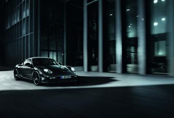 HELEMAAL ZWART: Porsche Cayman S Black Edition #1
