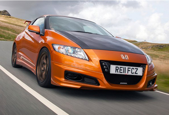 TYPE R-AROMA: Mugen-Honda CR-Z #1