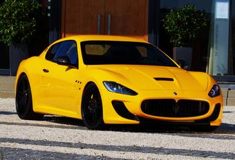 Novitec Tridente is erg gele Maserati MC Stradale #1