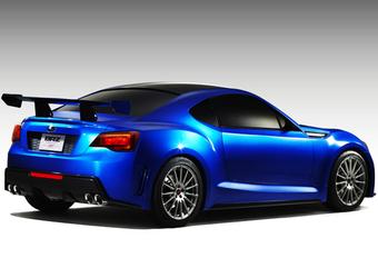 HET WERD TIJD: Subaru BRZ STI Concept #1