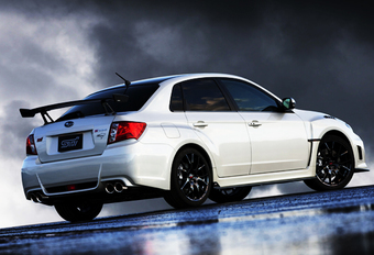 SLOTAKKOORD: Subaru Impreza STI S206 #1
