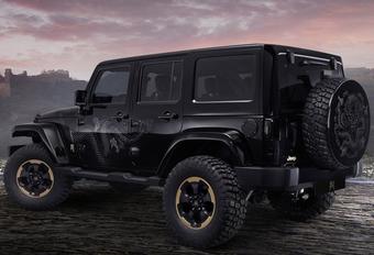 Drakenbloed: Jeep Wrangler Dragon Design Concept #1