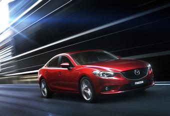 Nieuwe Mazda 6 toont zich in Moskou #1
