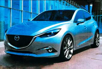 Is dit de nieuwe Mazda 3? #1