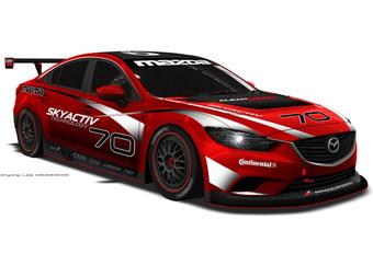 Mazda 6 Grand-Am is dieselracer #1