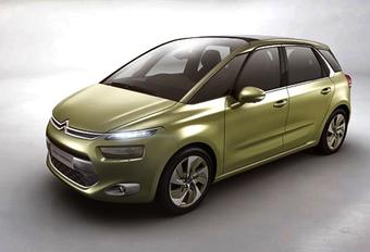 C4 PICASSO-VOORBODE: Citroën Technospace #1