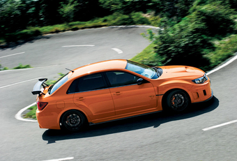 HARDCORE: Subaru WRX STI tS Type RA