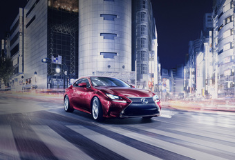 COUPE VOOR IS-FAMILIE: LEXUS RC #1
