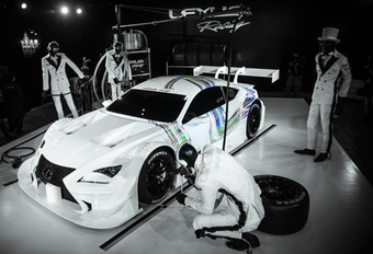 Lexus RC F GT500 is up all night to get lucky #1