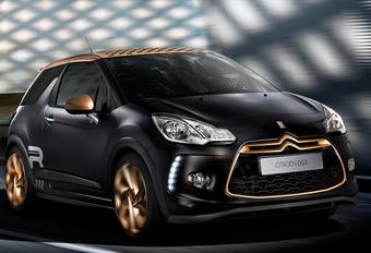 Citroën viert WRC-titel met DS3 Racing Mat Gold Special #1