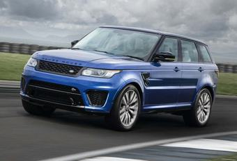 Range Rover Sport SVR laat masker vallen #1