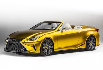 Lexus LF-C2 is voorbode nieuwe cabrio #1