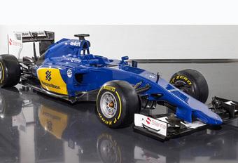 F1 2015: Sauber C34 trekt smurfenpakje aan #1