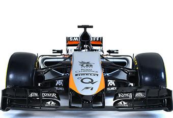 F1 2015: Force India VJM08 geraakt niet klaar #1
